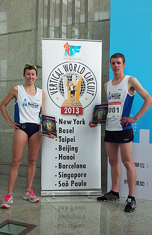 Taipei winners Valentina Belotti and Mark Bourne. (c) The Sporting Republic