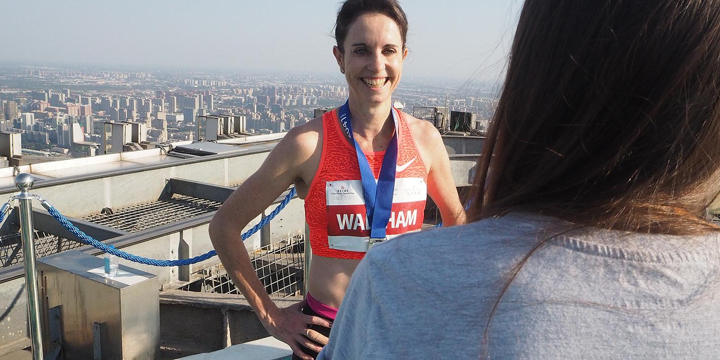 Suzy Walsham, 2015 Beijing winner