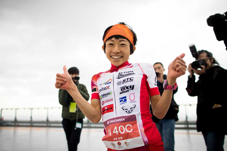Yuri Yoshizumi, 2016 Osaka winner. ©Sho Fujimaki